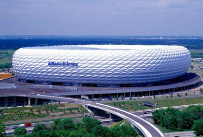 Allianz Arena Lo Stadio Di Monaco Di Baviera