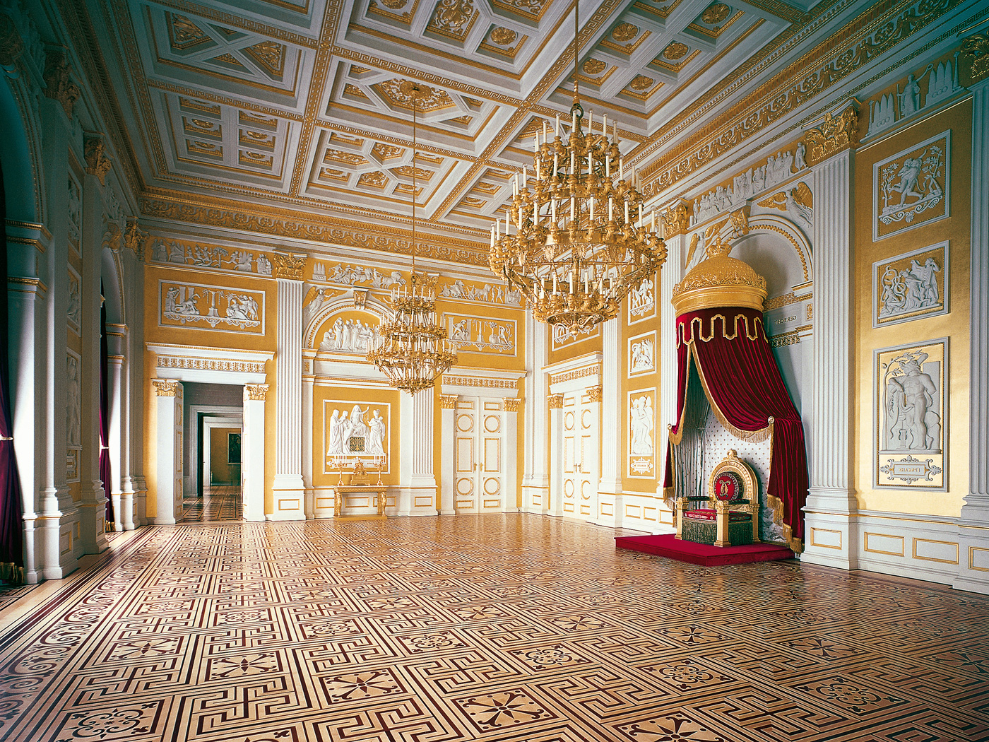 Residenz il palazzo reale di monaco for Planimetrie del palazzo con sala da ballo