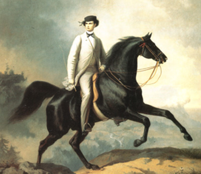 <strong>Ludwig e Sissi a cavallo</strong>