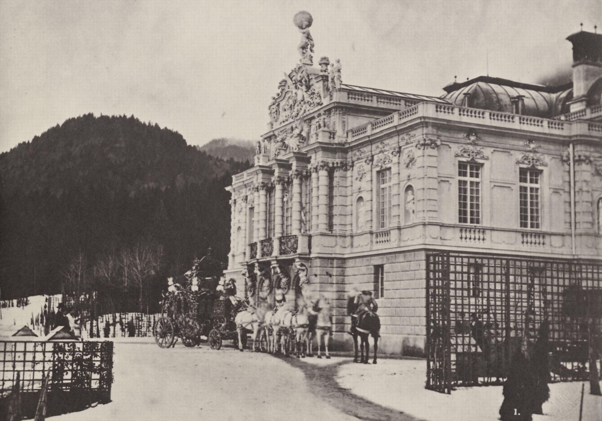 Linderhof nel 1885