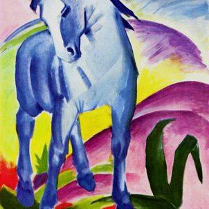 Cavallo blu I, Franz Marc