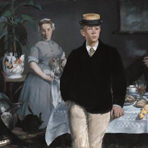 Colazione nell'atelier, Manet