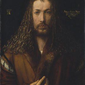 Autoritratto con pelliccia, Albrecht Dürer