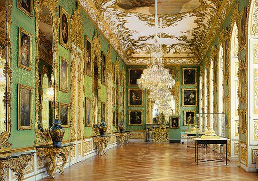 Grüne Galerie © Bayerische Schlösserverwaltung