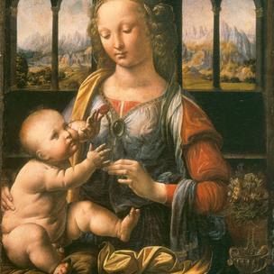 Madonna del Garofano, Leonardo da Vinci