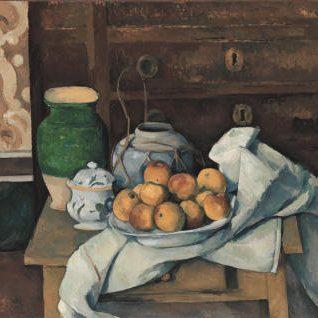 Natura morta con comò, Cézanne