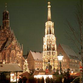 La piazza Hauptmarkt
