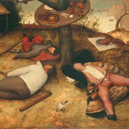 Il paese della cuccagna, Pieter Bruegel