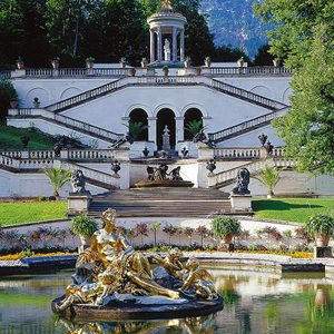 parco-castello-linderhof-baviera