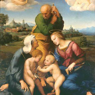 Sacra Famiglia Canigiani, Raffaello